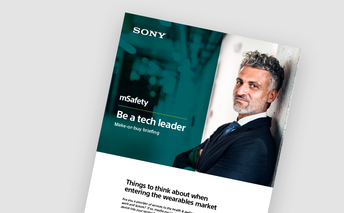 Briefing – 'Make or buy', mSafety