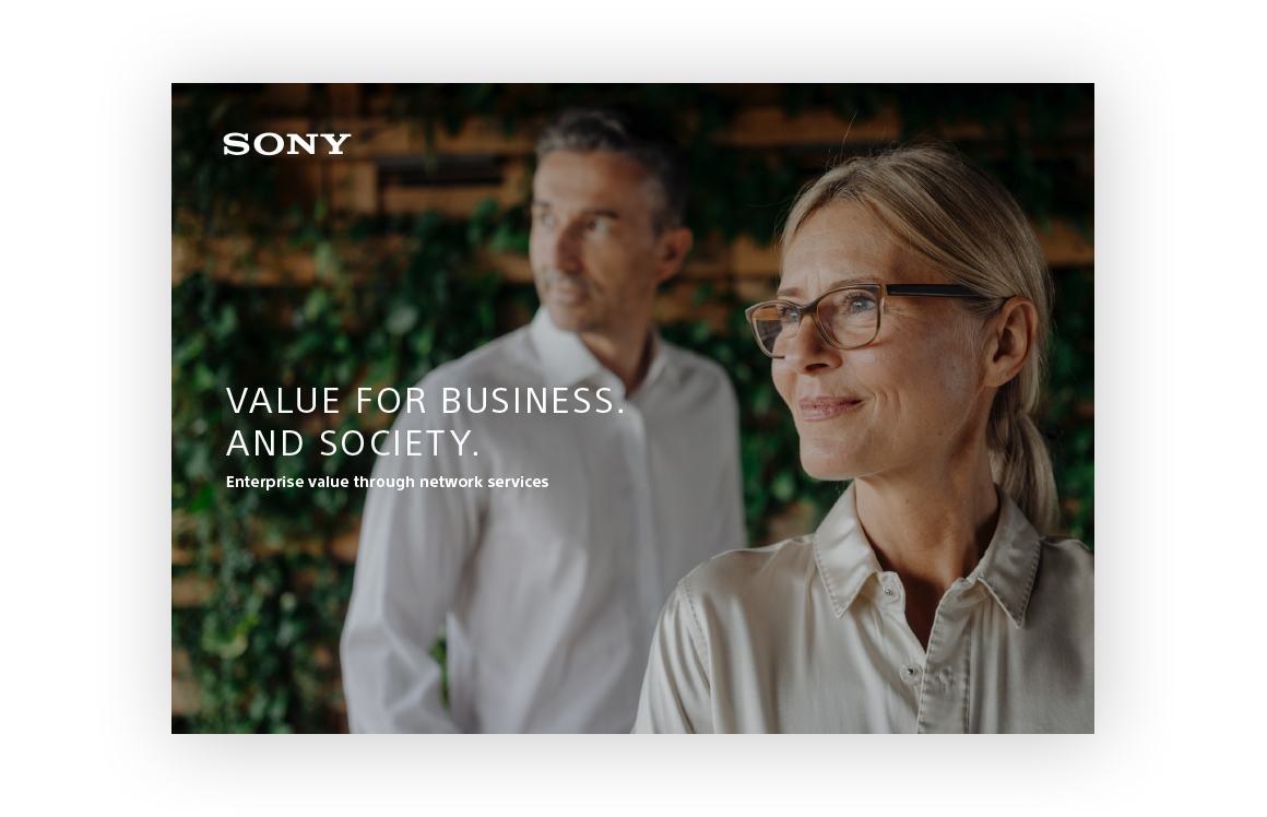 Sony Network Communications Europe - brochure